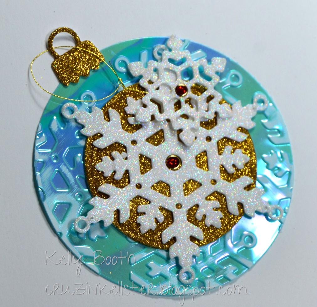 A dazzling little christmas card set for Elizabeth craft microfine glitter