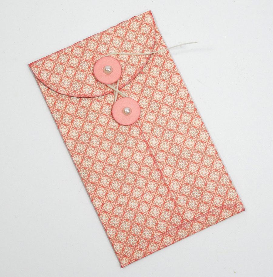 Jasmine Gift Card Holder Elizabeth Craft Designs