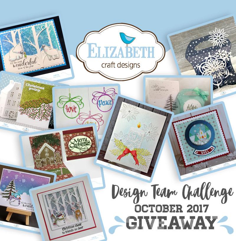 Elizabeth craft designs designer challenge october for Elizabeth craft microfine glitter